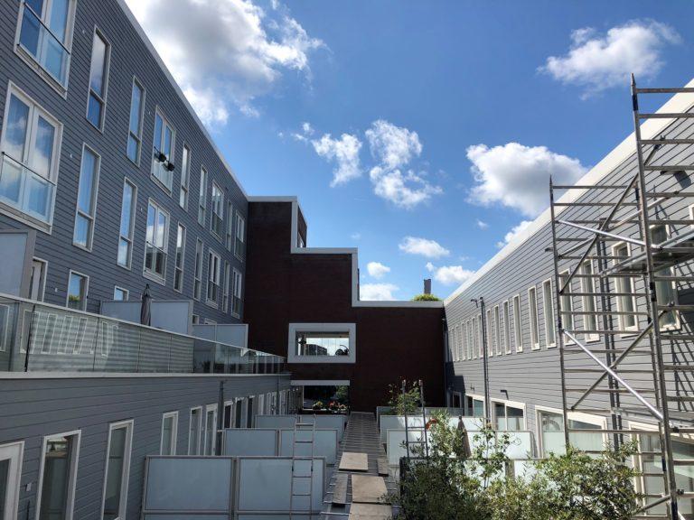 Schilder- en reinigingswerkzaamheden aan VvE Citadel- Droste terrein Haarlem