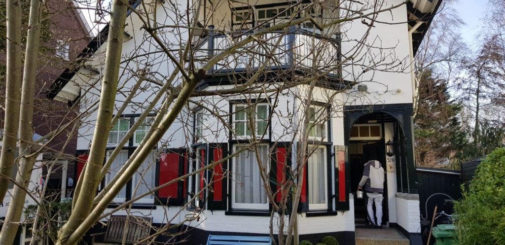 Onlangs uitgevoerd: Buitenschilderwerk aan de Leidsevaart te Haarlem