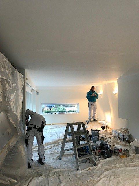 Nu in uitvoering: binnenschilderwerk aan de W. Denijslaan