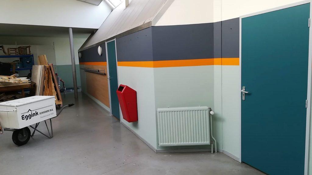 Binnen- en buitenschilderwerk aan het Rudolf Steinercollege te Haarlem
